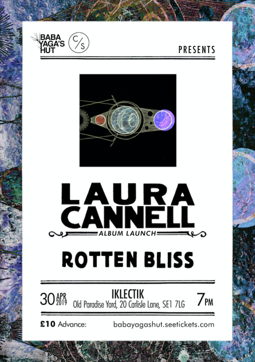 Laura Cannell Album Launch Poster Iklectic